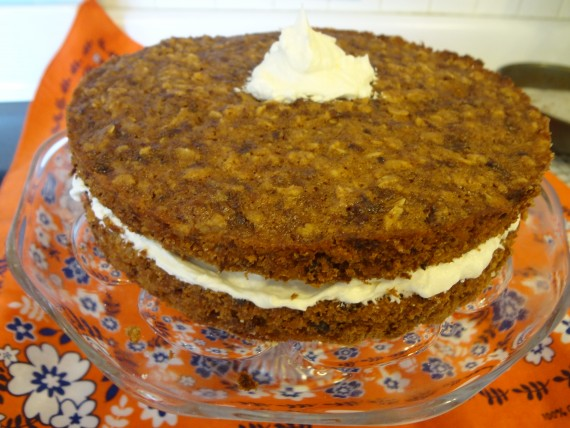 Vegan Oatmeal Creme Pie (from Have Your Cake and Vegan too)