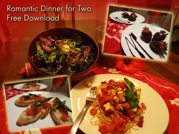 Valentine's Day Menu and Shopping List – Free Download
